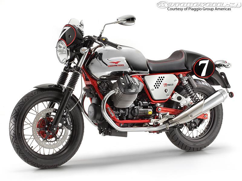 2013 Moto Guzzi V7 Racer - Moto Guzzi PNG