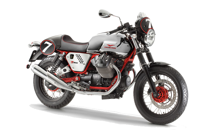 Meet Bella - My Moto Guzzi V7 Racer! - Moto Guzzi PNG