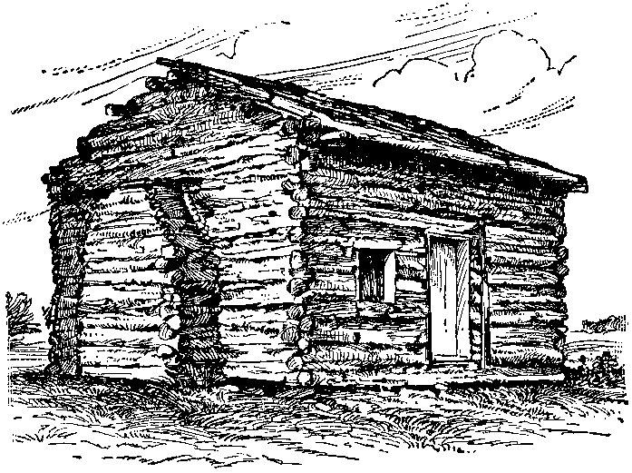 File:NSRW Lincoln Abraham - log cabin.png - Mountain Cabin PNG