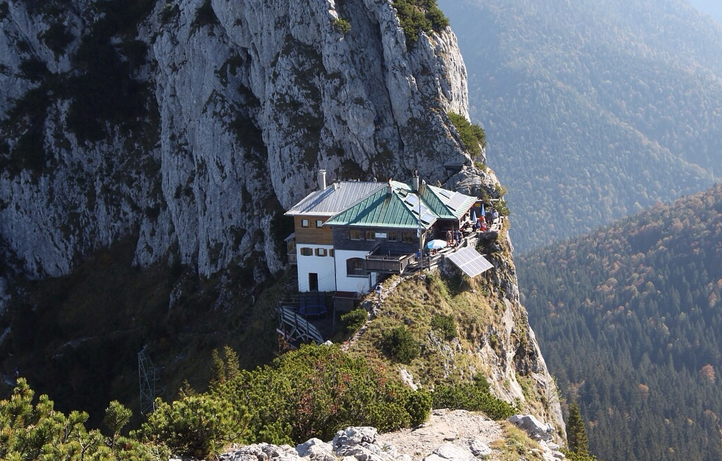 GERMANY - Tegernseer Hütte - Mountain Cabin PNG