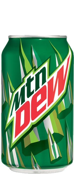 Current generation Mountain Dew can design - Mountain Dew PNG