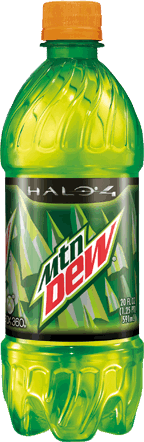 Halo 4 Dew.png - Mountain Dew PNG