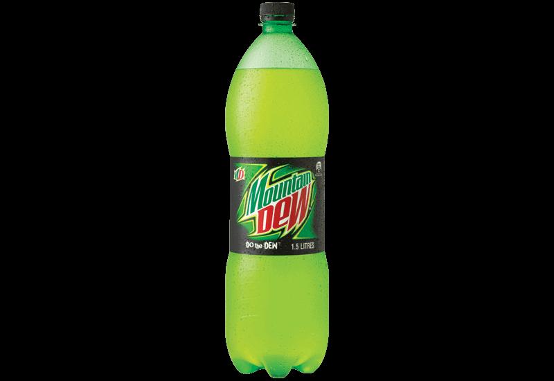 Menu Mountain Dew - Mountain Dew PNG