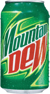 png 214x400 Mountain dew can transparent background - Mountain Dew PNG