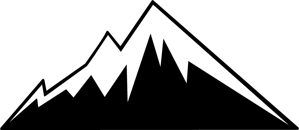 mountain peaks clipart mountain clip - Mountain Peak PNG HD