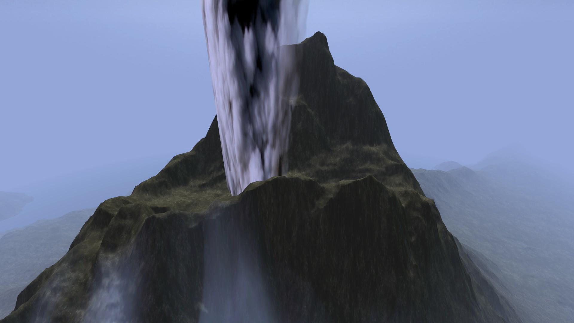 Red Mountain Peak Detail.png - Mountain Peak PNG HD
