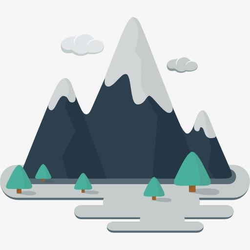 Snow Mountain, Mountains, Rockery, Mountain Peak PNG and PSD - Mountain Peak PNG HD