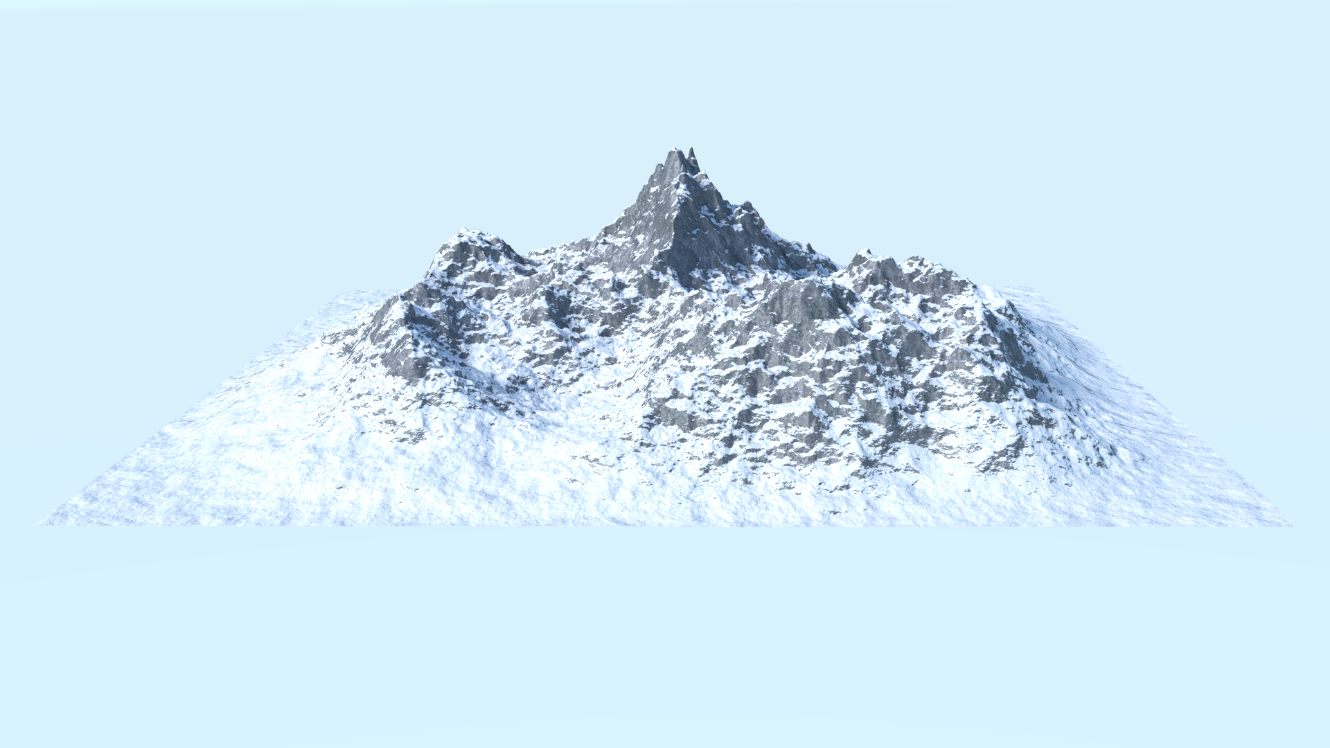 Mountain Range PNG HD - 151164