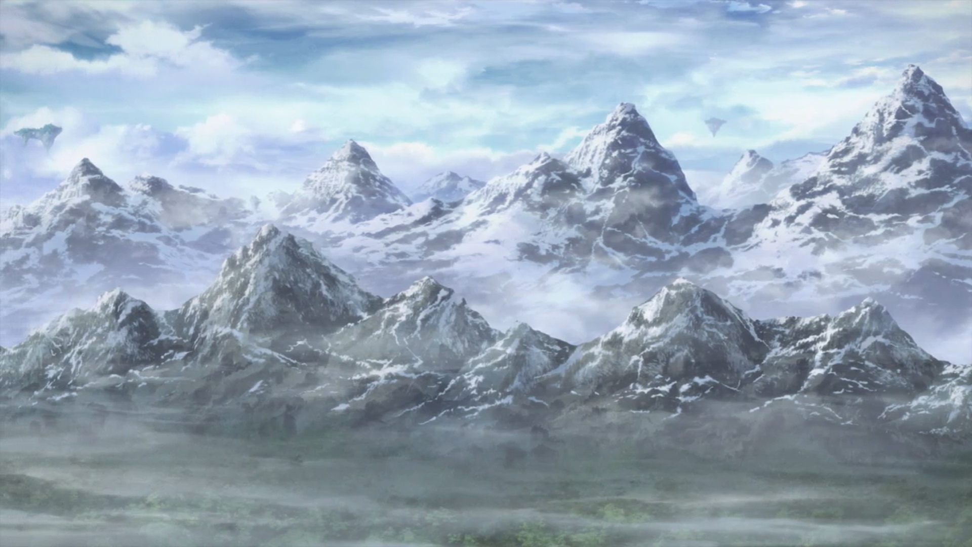 Alfheim mountains.png - PNG HD Mountain Range - Mountain Range PNG HD
