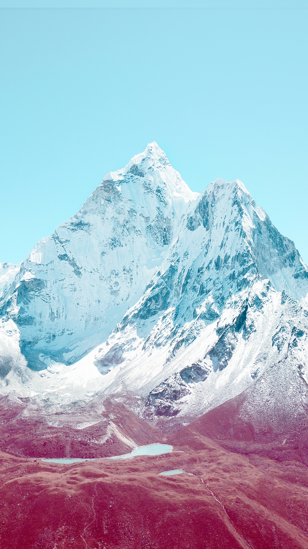iOS 7 Mountains HTC hd wallpaper - Best htc one wallpapers - Mountain Range PNG HD