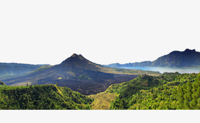 Kintamani HD Photo, Beautiful Scenery, Kintamani, Natural Scenery Hd  Pictures PNG Image and - Mountain Range PNG HD