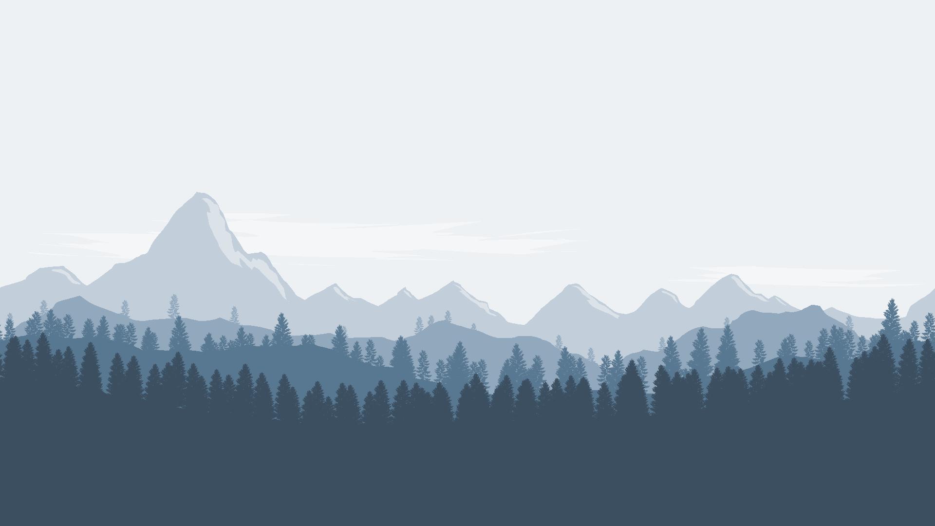 landscape.png PlusPng.com  - Mountain Range PNG HD