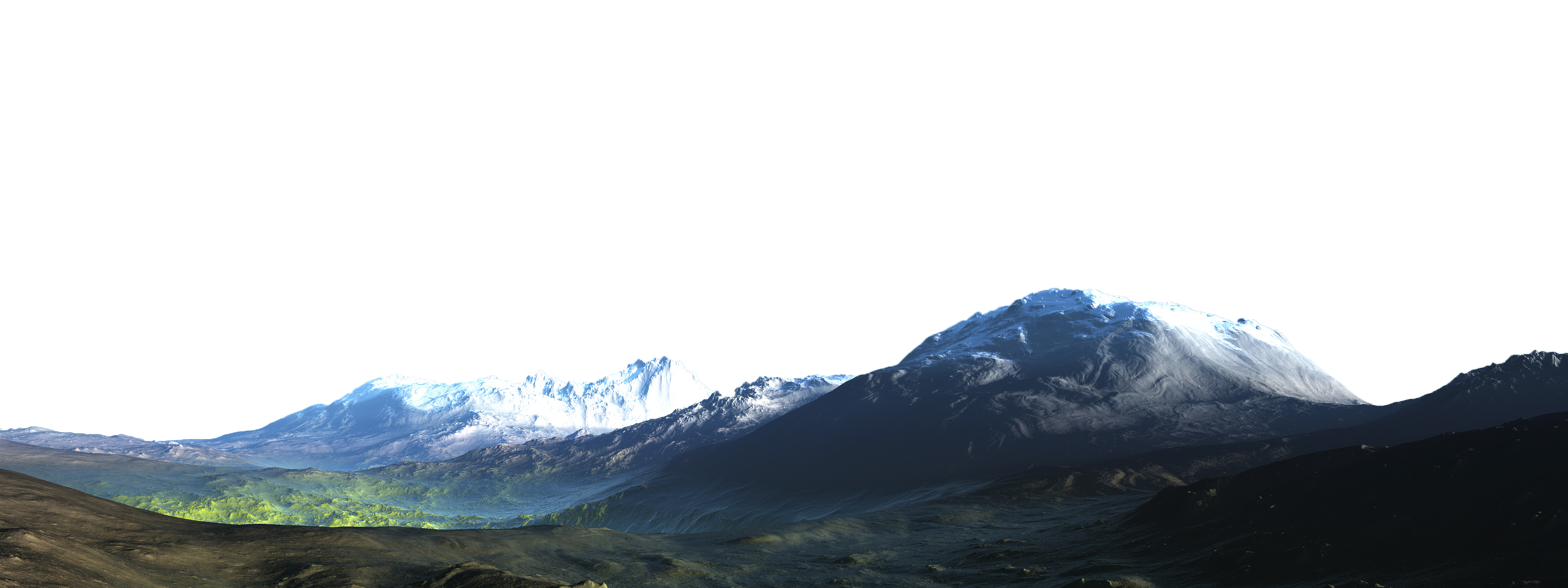 Mountains PNG HD - 120444