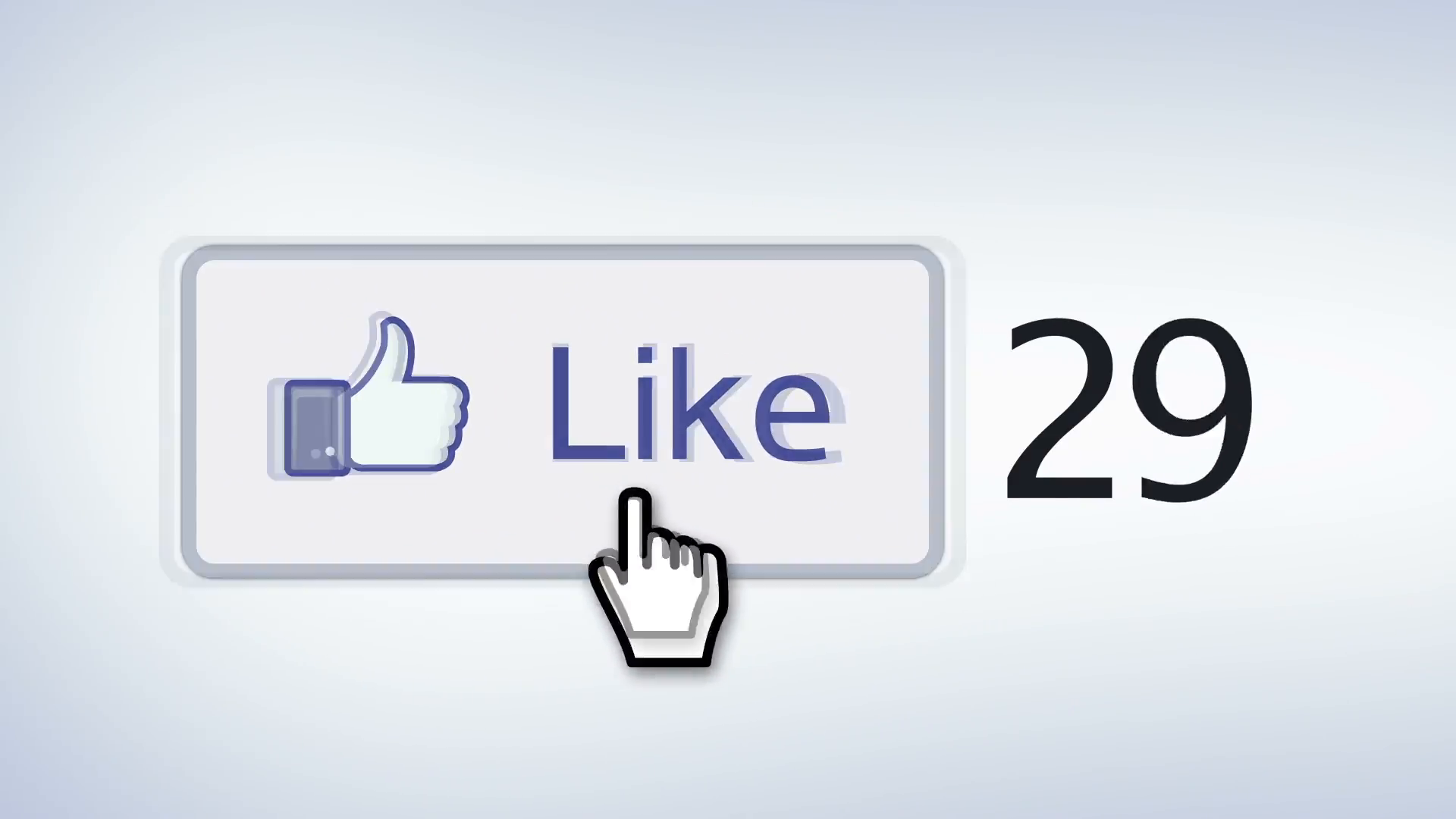 Facebook like button with single mouse cursor clicking like Motion  Background - Videoblocks - Mouse Cursor Click PNG