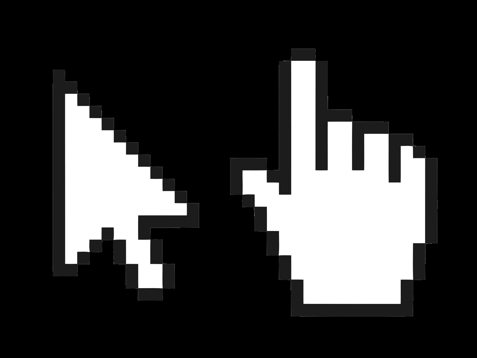 Open PlusPng.com  - Mouse Cursor Click PNG
