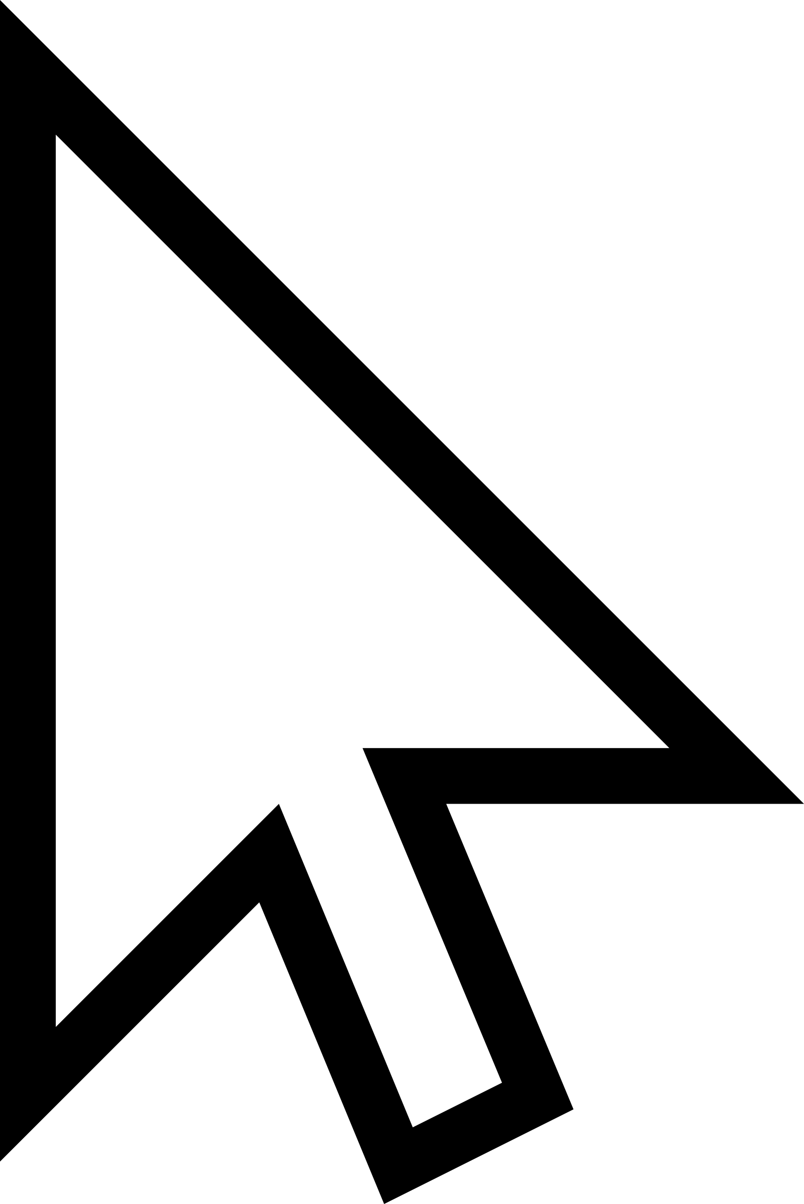 White Mouse Cursor Arrow By Qubodup image #1113 - Mouse Cursor Click PNG