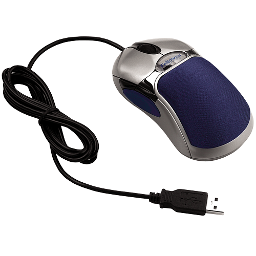 5-Button Optical Mouse with HD Precision - Mouse HD PNG