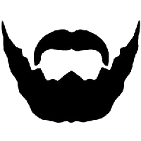 Beard And Moustache Png Image PNG Image - Moustache Styles PNG
