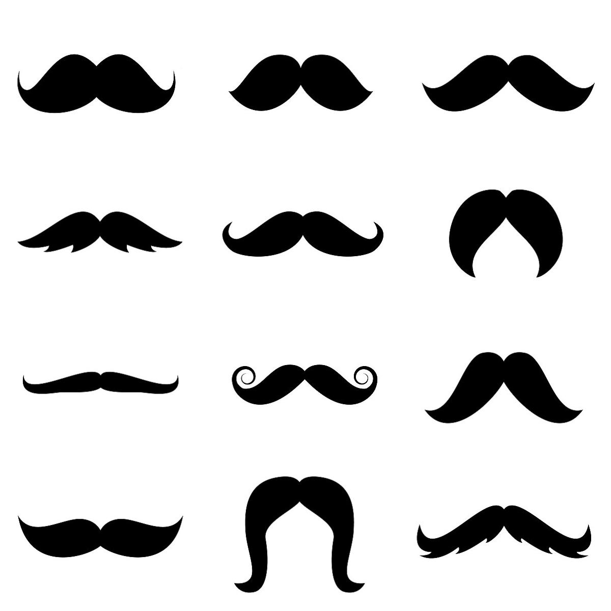 Moustache Styles PNG - 61108
