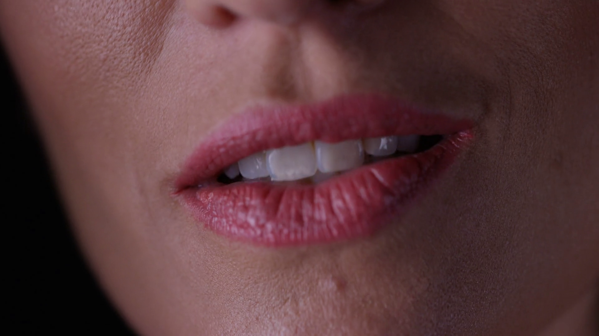 4K Extreme close up on the mouth of woman talking Stock Video Footage -  VideoBlocks - Mouth Talking PNG HD