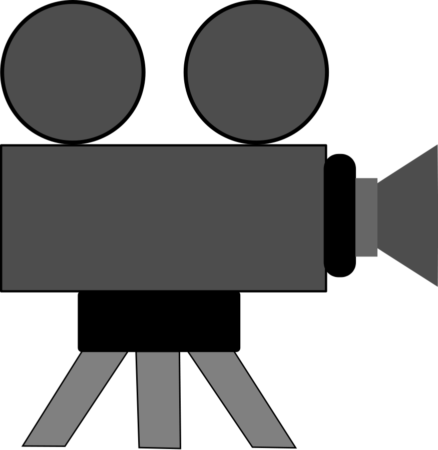 Movie Camera Clipart Widescreen 2 HD Wallpapers | - Movie Camera PNG HD