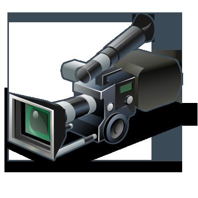 Movie Camera PNG HD - 123639