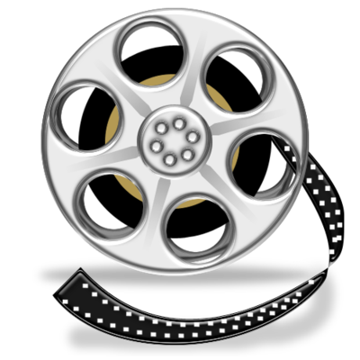 film, media, movie, reel, video icon. Download PNG