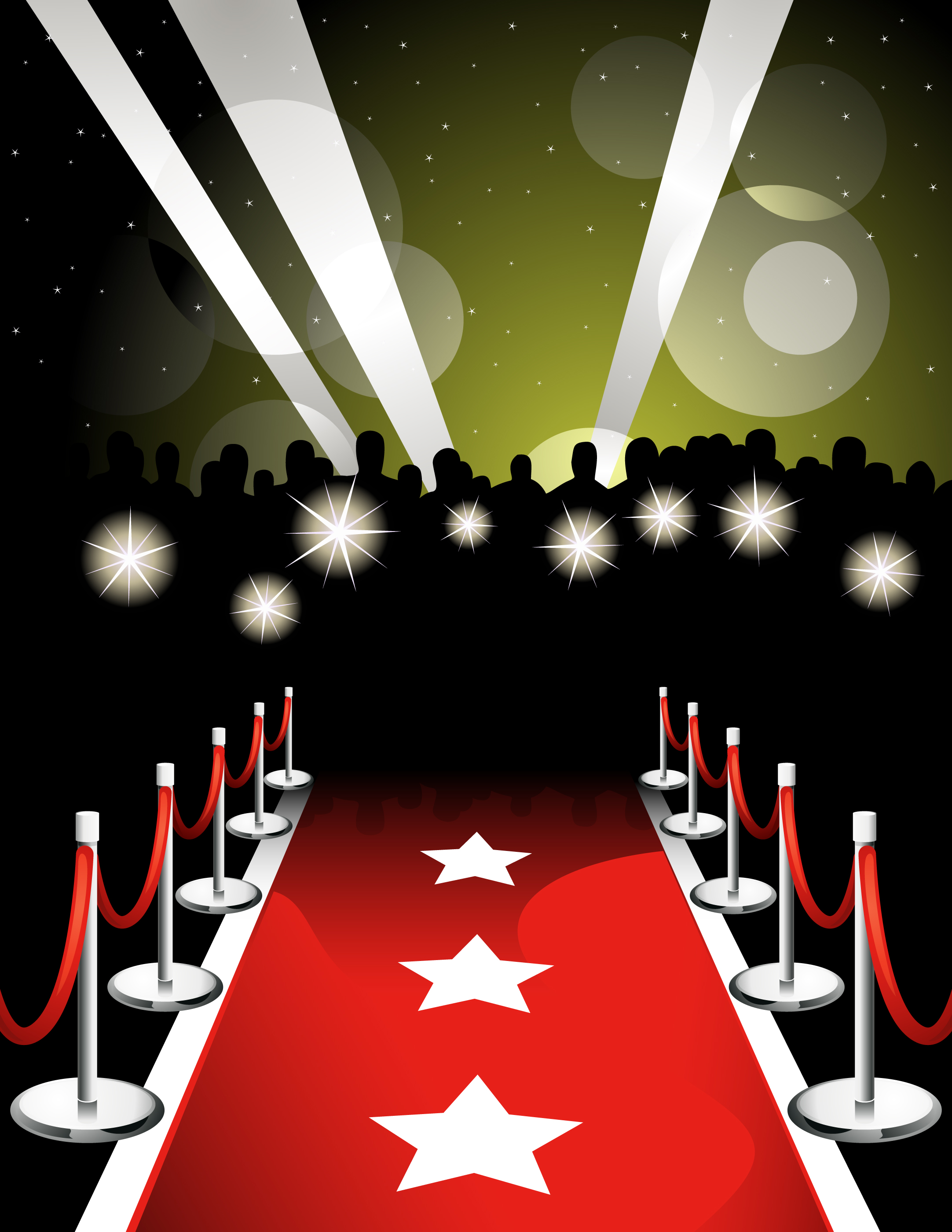 Movie Star Red Carpet Clipart - Movie Star Red Carpet PNG