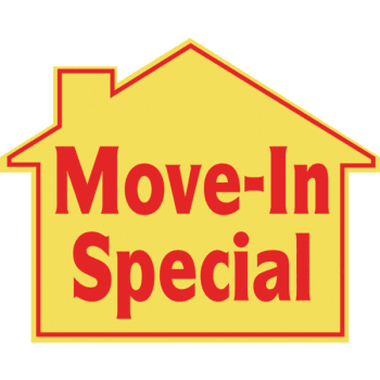 Promotional Move In Special House Sign, 22-1/2 x 18 - Moving House PNG HD