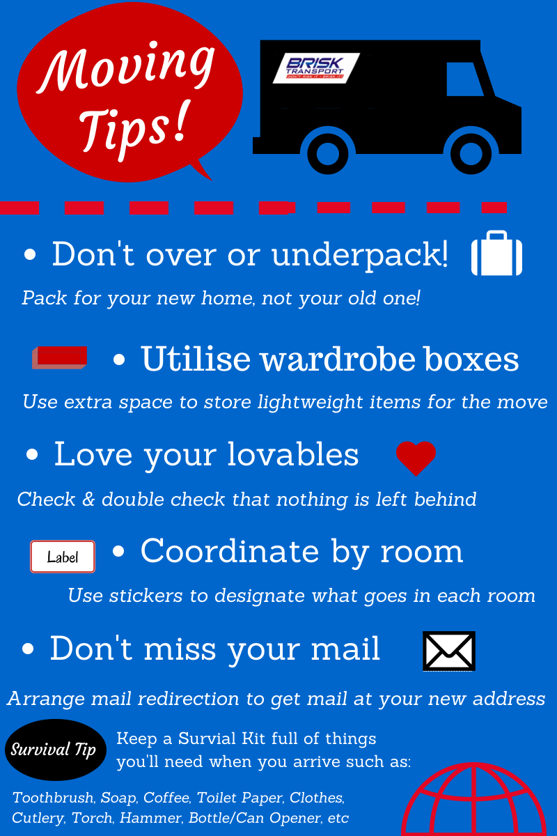 Trendy Checklist For Moving Into A New House From Tips