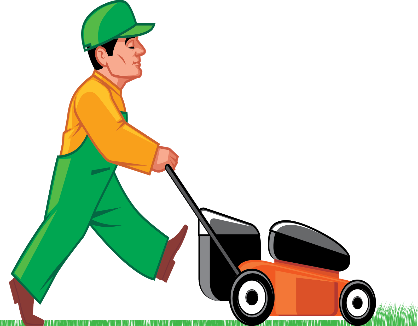 Mow The Lawn PNG - 73693