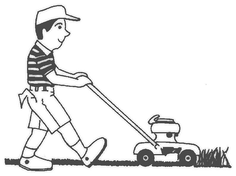 Mow The Lawn PNG - 73699