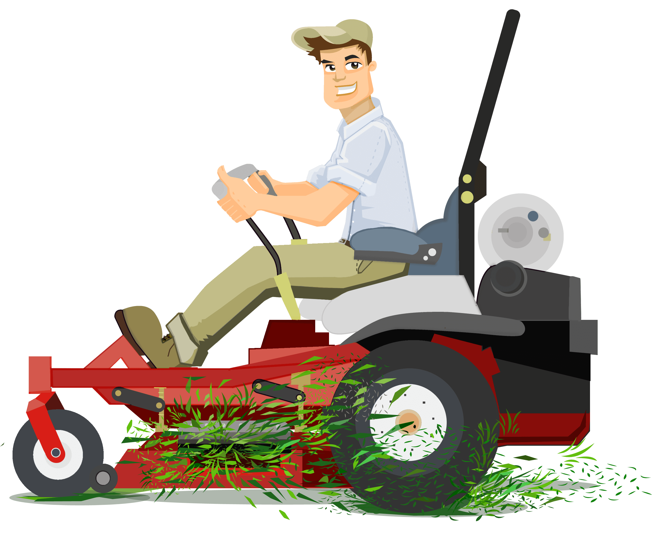 Mow The Lawn PNG - 73697