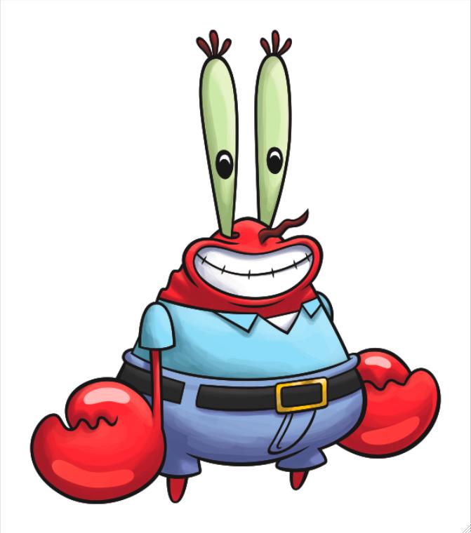 Mr Krabs PNG - 43684