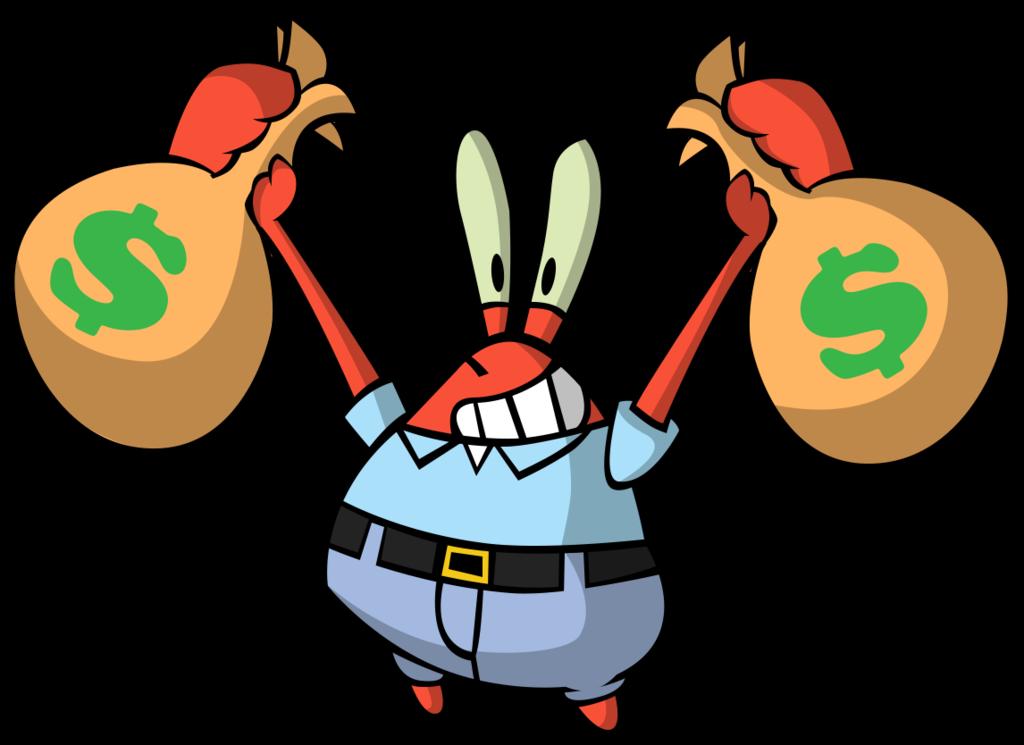 Mr. Krabs by eKarasz PlusPng.com  - Mr Krabs PNG