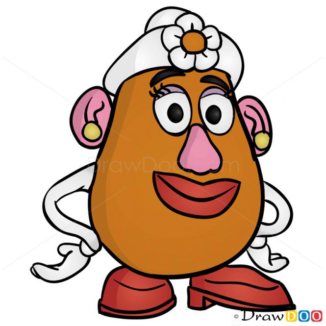 Mrs Potato Head PNG - 79713