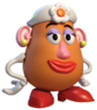 Mrs Potato Head PNG - 79705