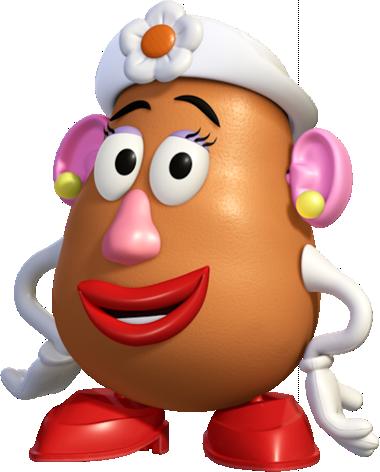 Mrs Potato Head PNG - 79701