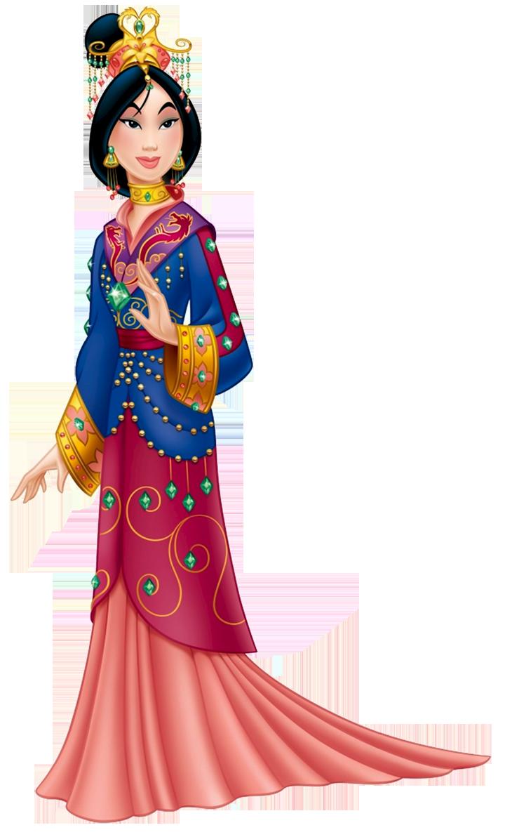 Cartoon Disney Mulan Clipart. - Mulan PNG HD