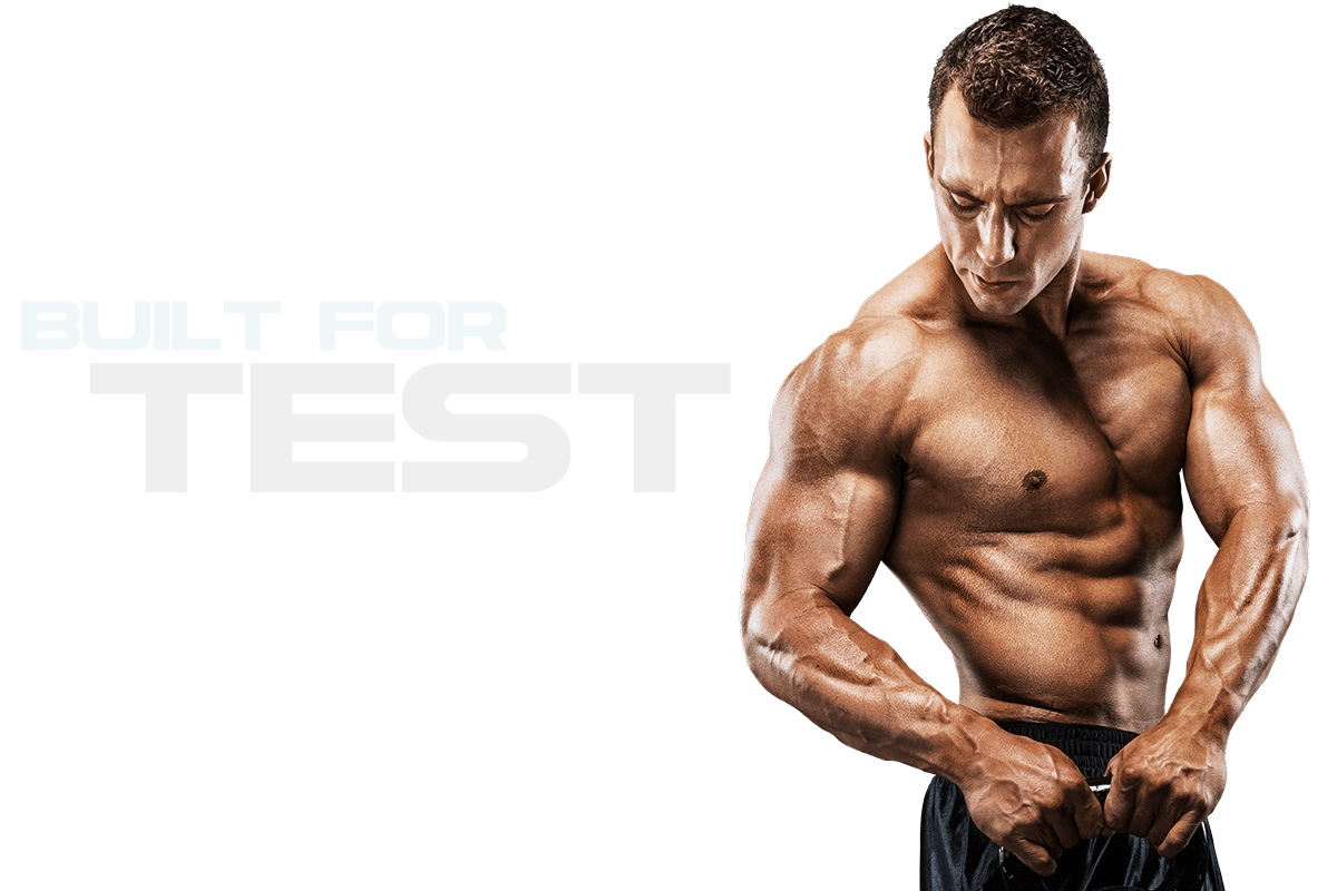Built for Test - Muscle PNG HD