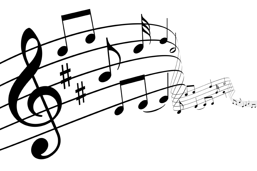 music note transparent background