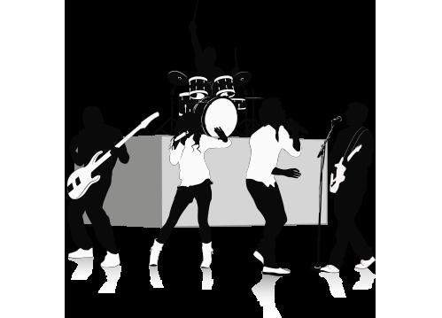 Music Band PNG HD - 129585