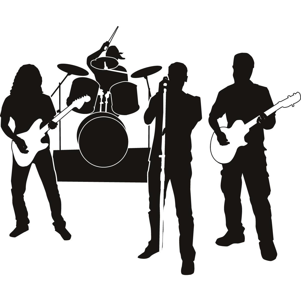 Music Band PNG HD - 129583