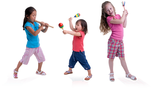 Music Class Girl Kids PNG