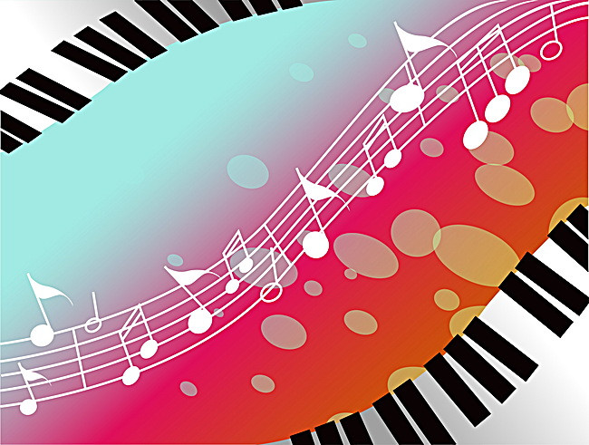 Background music hd trend - Music Keyboard PNG HD