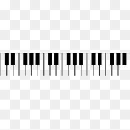 piano - Music Keyboard PNG HD