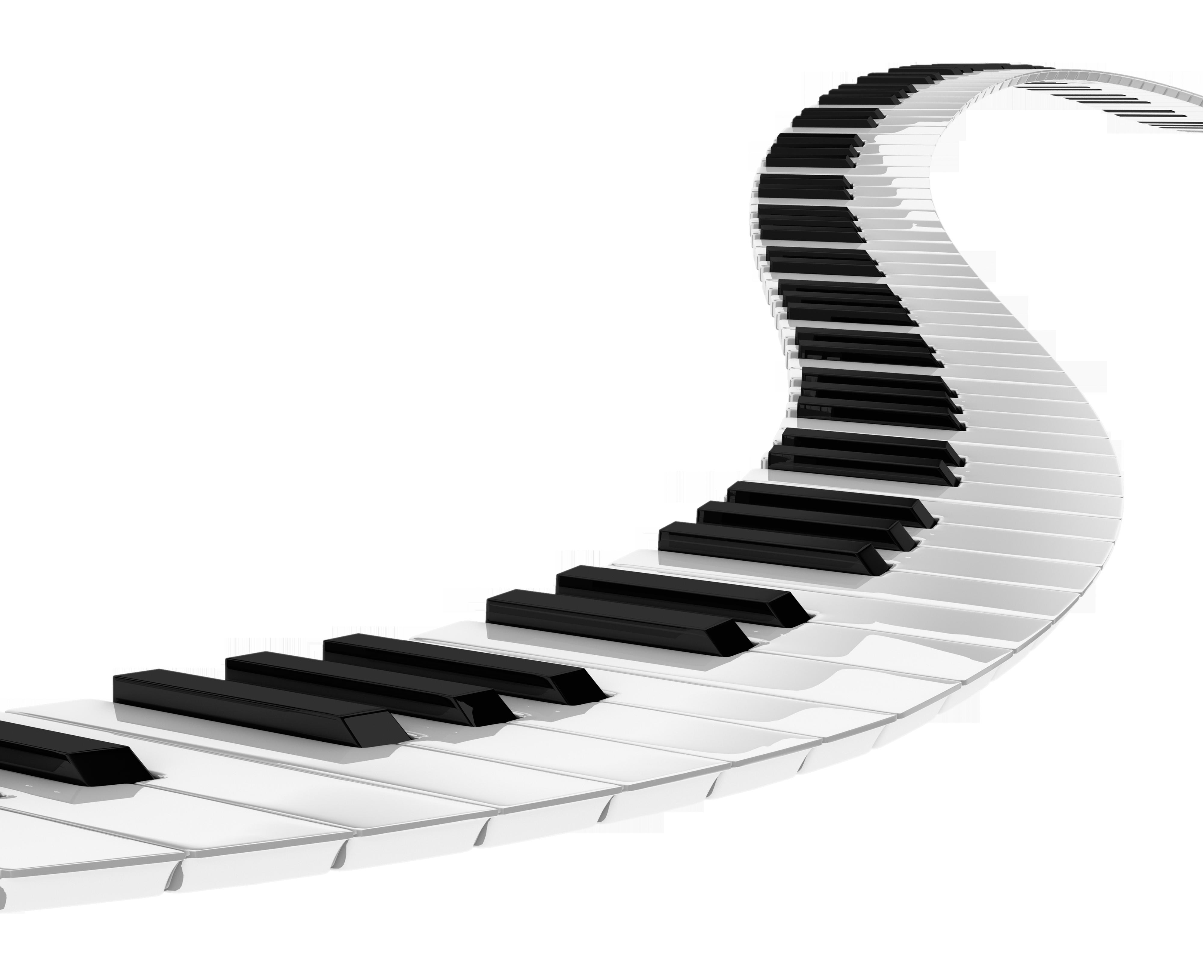 Music Keyboard PNG HD - 139675