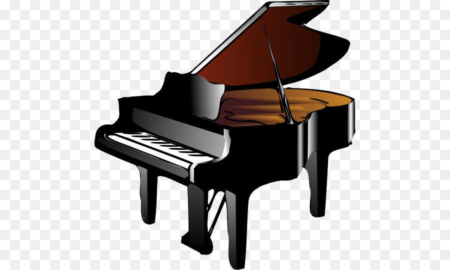 Piano Keyboard Clip art - Piano Png Hd - Music Keyboard PNG HD