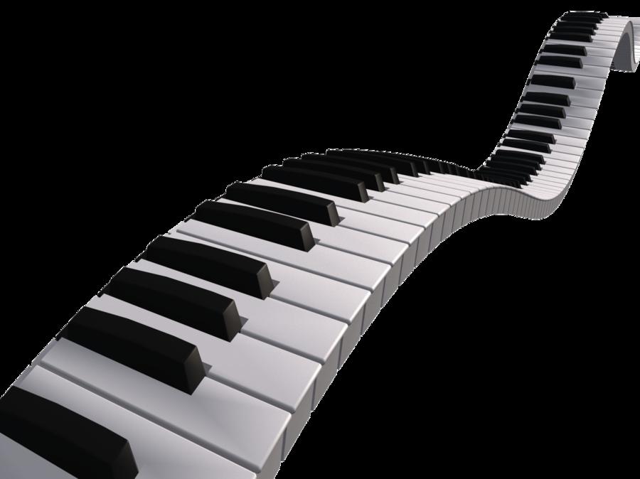 Music Keyboard PNG HD - 139673
