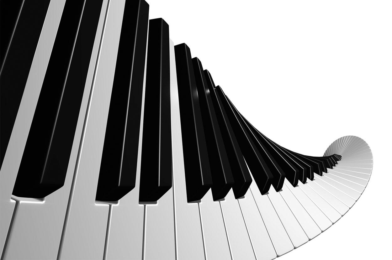 Praise and Worship - Music Keyboard PNG HD